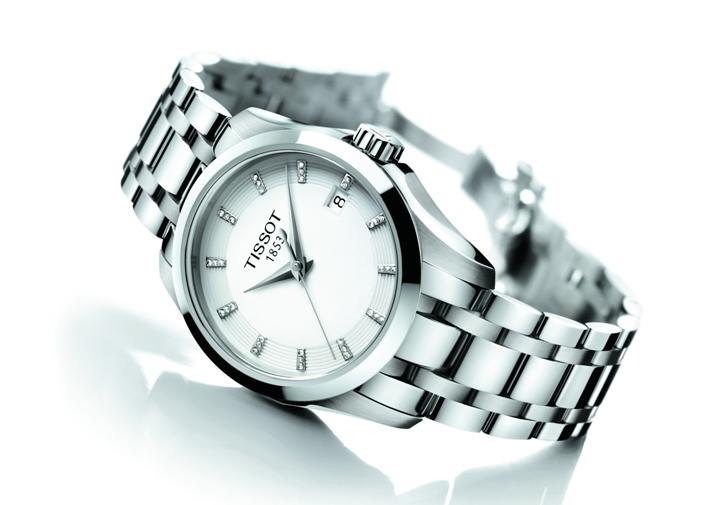 天梭新款女表图片欣赏 天梭圣诞节特别新款腕表推荐