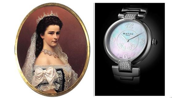 为皇后准备的腕表——宝玑与美爵奢华时光