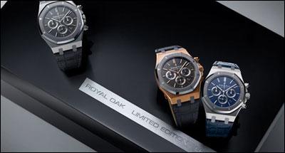 爱彼手表最新款腕表推荐:皇家橡树系列梅西限量款手表