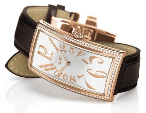 Tissot天梭王子经典系列粉金腕表推荐