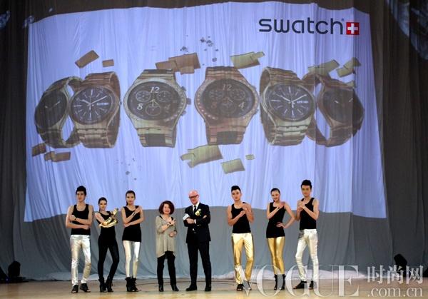 斯沃琪2012全新梦魇系列在上海发布
