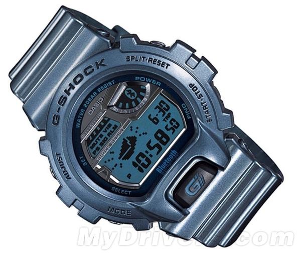 卡西欧推iPhone同步蓝牙腕表:售价180美元