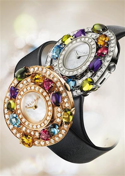 BVLGARI宝格丽Astrale系列全新彩色腕表