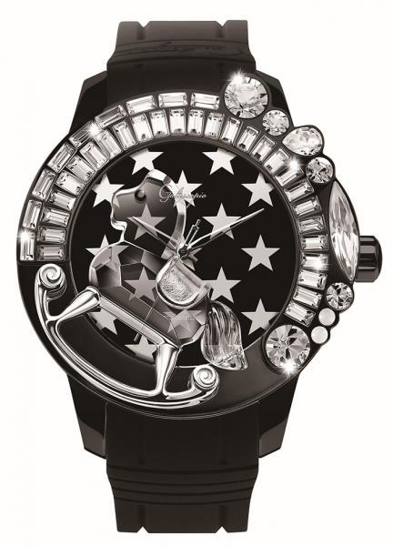 法国高级潮流GALTISCOPIO艺术水晶腕表