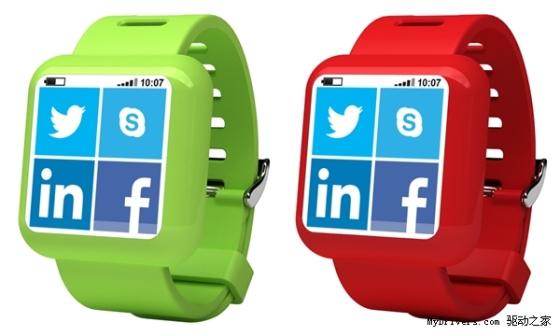 可安装WP8应用的智能手表即将问世