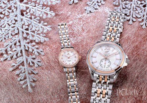 瑞士英纳格圣诞节日献礼腕表