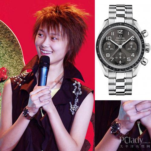 李宇春释放舞台力量!腕表搭配西装演绎时尚型格