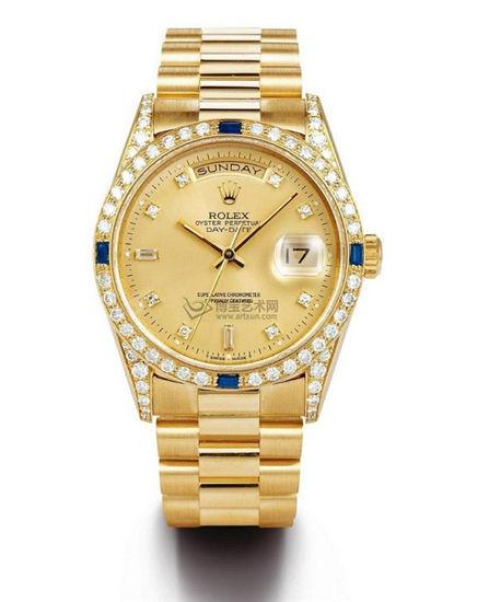 老牌低调奢华铂金腕表
