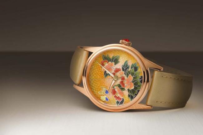 EDOX 推出花卉珐琅限量机械腕表
