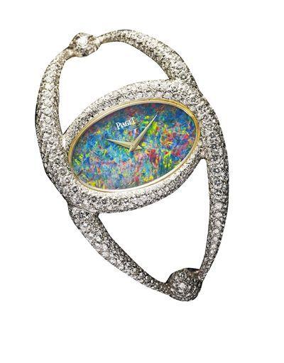 伯爵高级珠宝手镯腕表