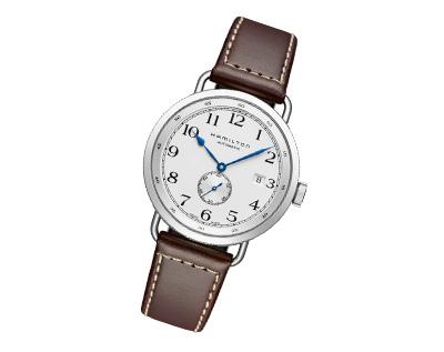 传奇航海之旅的缩影——汉米尔顿卡其海军先锋40mm腕表