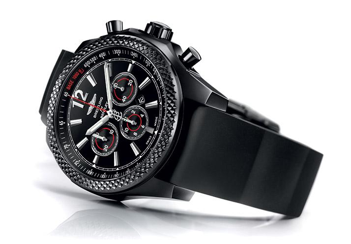BREITLING 百年灵极致炫酷黑钢腕表
