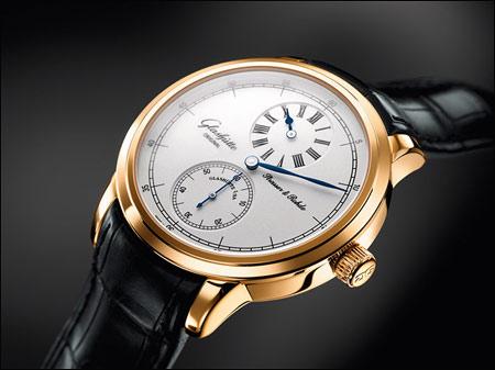 格拉苏蒂Strasser&Rohde Regulator三针一线腕表