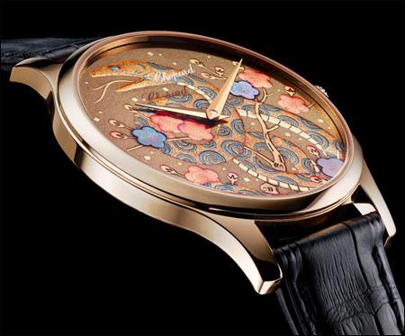 Chopard(肖邦)超薄蛇年莳绘腕表