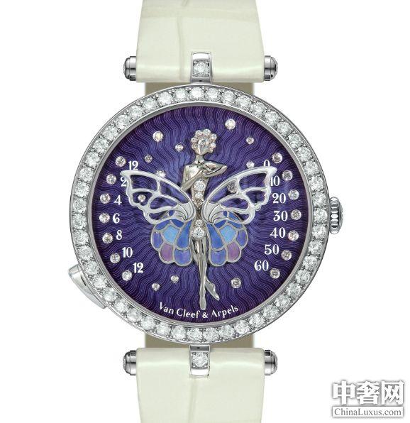 2013 SIHH:梵克雅宝蝴蝶夫人芭蕾舞腕表