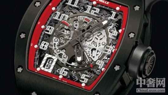 理查德-米勒全新震撼可拆卸自动盘腕表