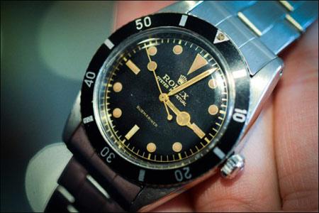 1954 Rolex 6205 Submariner 回味经典腕表