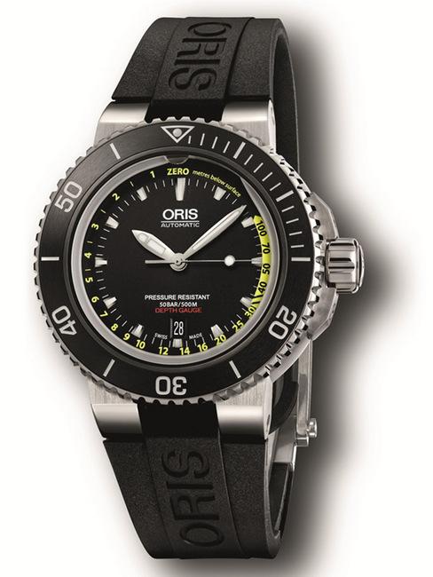 ORIS 豪利时挑战潜水深度极限