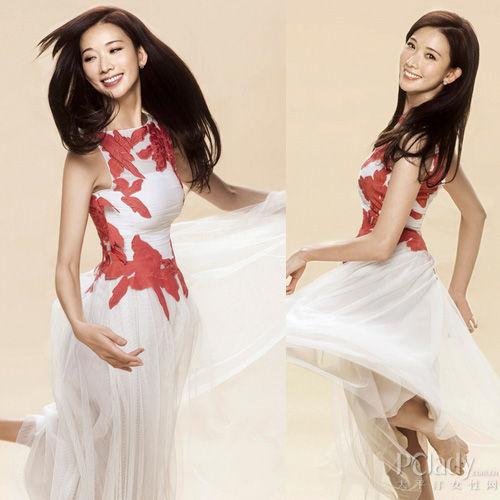 林志玲诠释裸色优雅