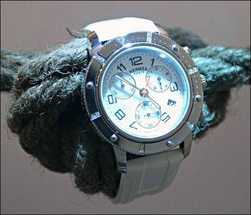 海洋情结 爱马仕品牌Clipper腕表