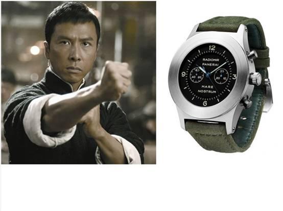 腕表看身份性格 揭《一代宗师》3主角专属腕表