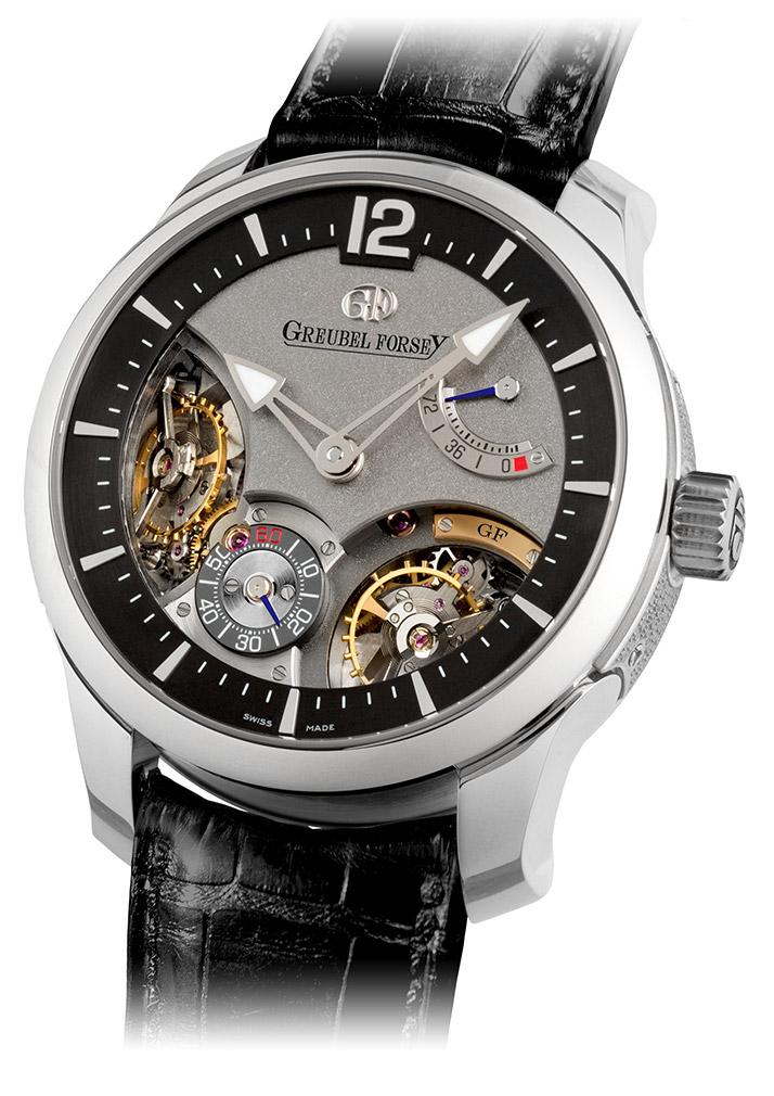 高珀富斯发表Doubel Balancier双重摆轮腕表