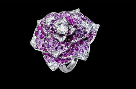 Piaget伯爵蛇年生肖珐琅彩绘腕表 伯爵玫瑰系列珠宝