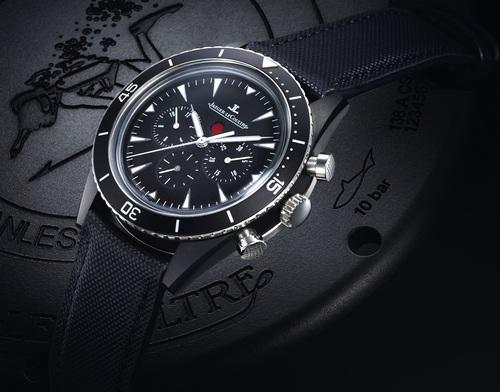 积家Deep Sea Chronograph Cermet 金属陶瓷计时腕表