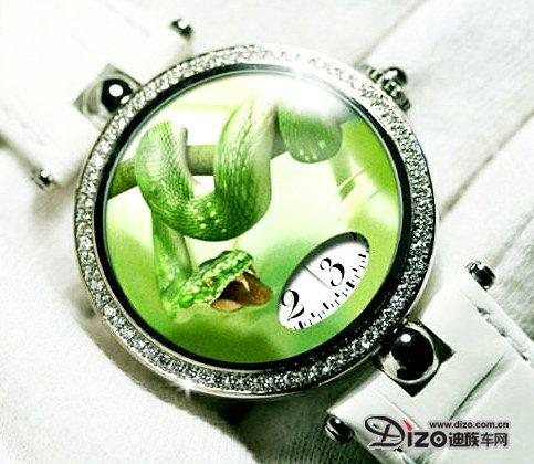 2013迎来了中国蛇年 Chopard超薄蛇年莳绘腕表献礼
