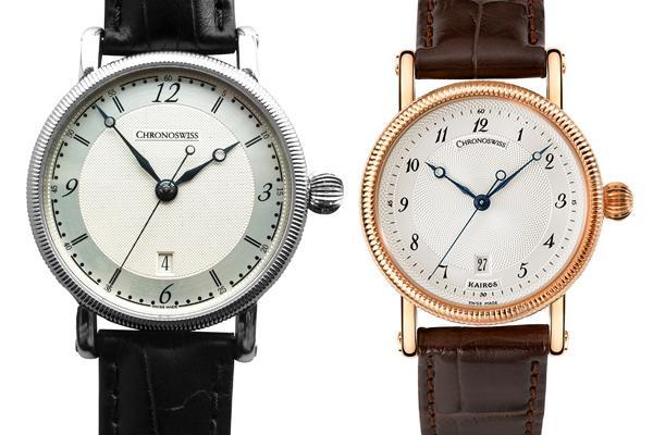 瑞宝Kairos系列日期显示自动腕表
