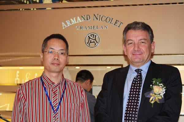 万表网广州体验店——欧洲名表殿堂 Armand Nicolet专柜(图)