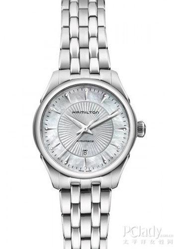 汉米尔顿推出爵士淑女自动机械腕表