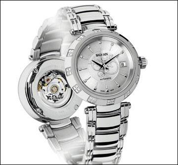 宝曼巴黎高端品牌至美系列腕表发布:简单线条完美点缀永恒魅力