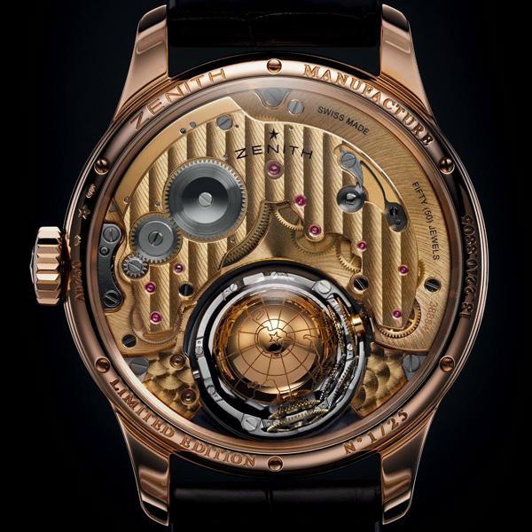 Zenith全新尊贵系列哥伦布飓风腕表