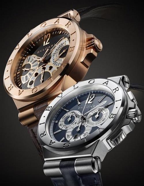 宝格丽呈现全新两款「Diagono」系列腕表