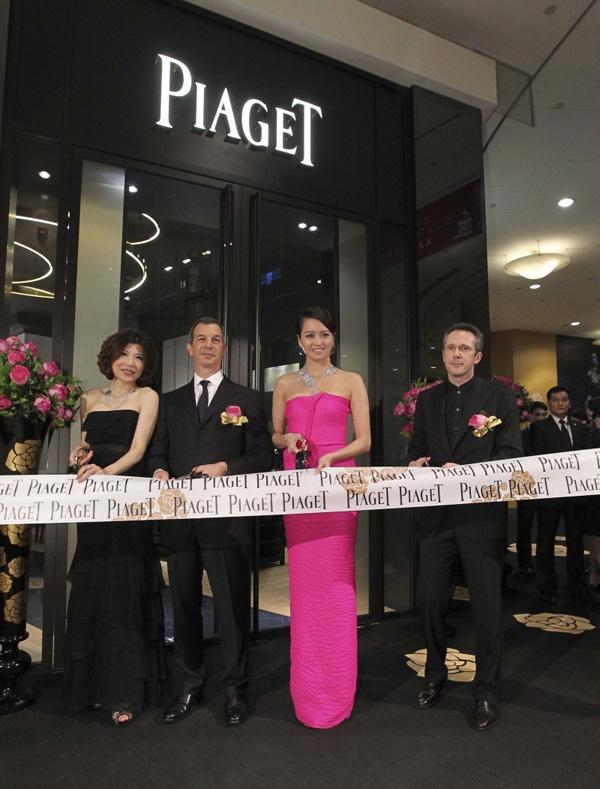 Piaget台北101全新概念精品店盛大开幕