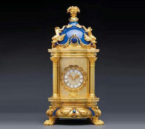 皇家蓝──圆顶座钟超凡之作