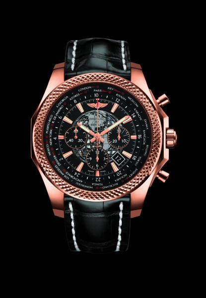 百年灵宾利B05世界时区计时腕表