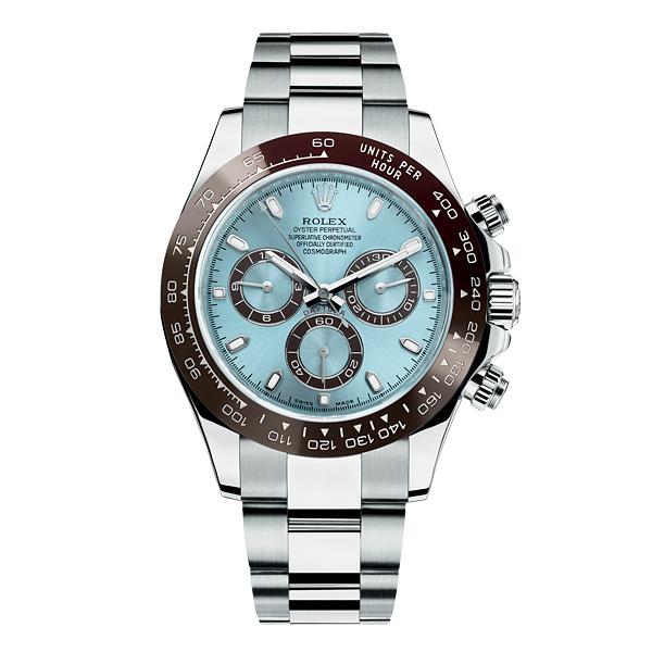 劳力士新款蚝式恒动宇宙计型迪通拿铂金版腕表