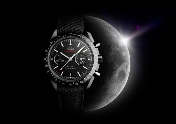 欧米茄全新超霸系列「月之暗面」黑色陶瓷腕表