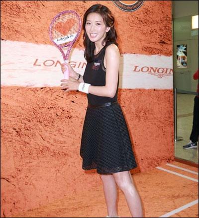 林志玲佩戴时尚品牌longines浪琴表出席赞助活动(图)