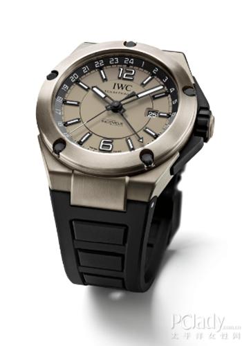 IWC万国表工程师追针计时和双时区钛金属腕表