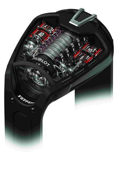宇舶表50天动力储存创新腕表