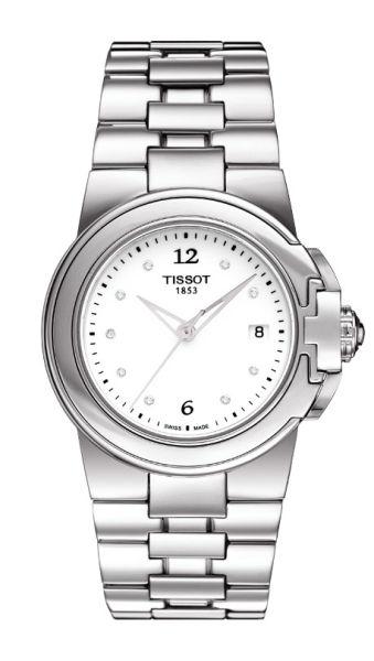 天梭Sport-T系列女士腕表正面视图