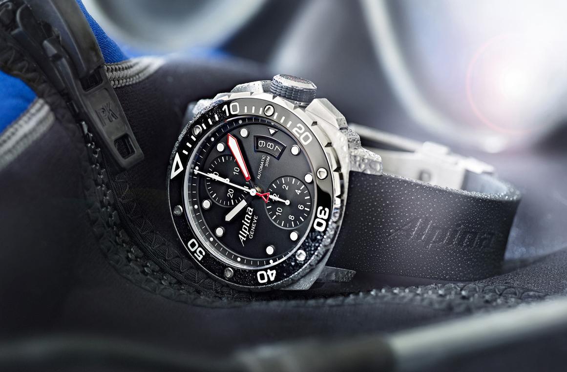 Alpina Extreme Diver 300计时自动腕表
