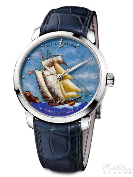 沛纳海全新现代系列3日动力储存自动腕表