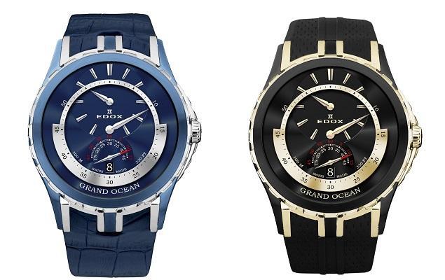 依度推出Grand Ocean系列三针一线腕表