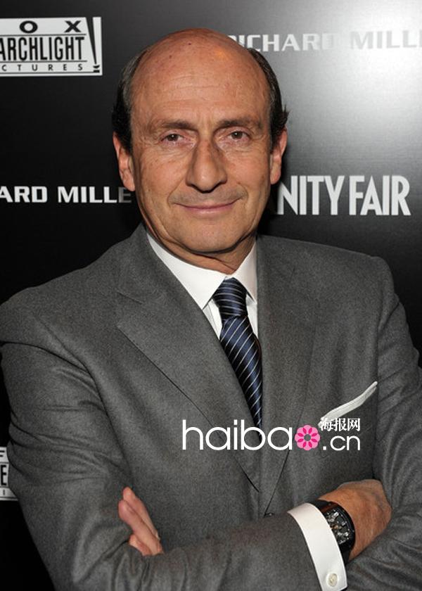世界顶级机械腕表品牌理查德·米勒(Richard Mille) 创始人Richard Mille