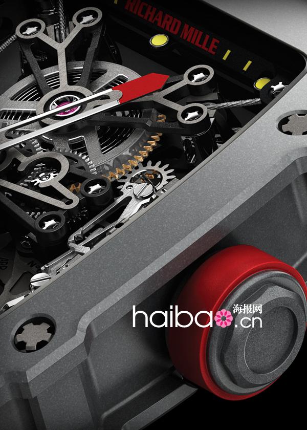 理查德·米勒(Richard Mille) RM 27-01拉斐尔纳达尔陀飞轮腕表