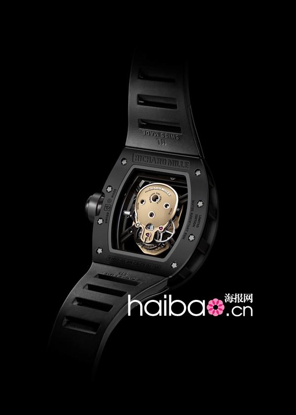 理查德·米勒(Richard Mille) 2013新款RM 52-01颅骨陶瓷纳米陀飞轮腕表